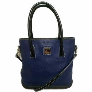 Dooney & Bourke Navy Par á Sole Shoulder Bag